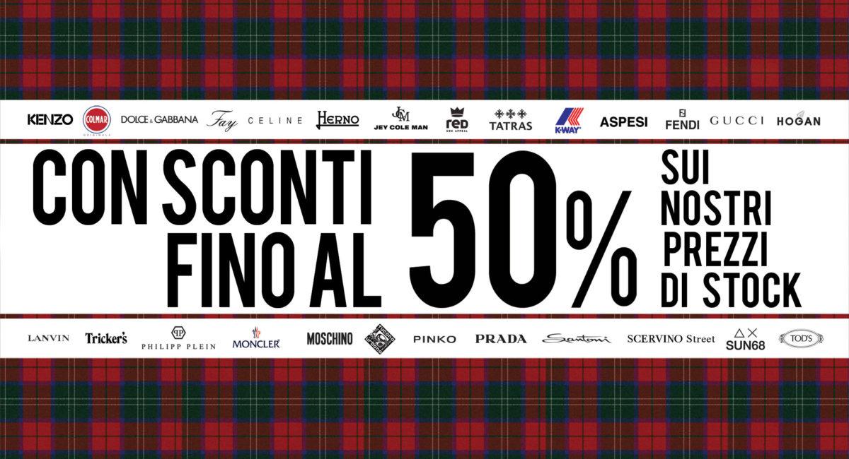 SONO INIZIATI I SALDI CON SCONTI FINO AL 50%!